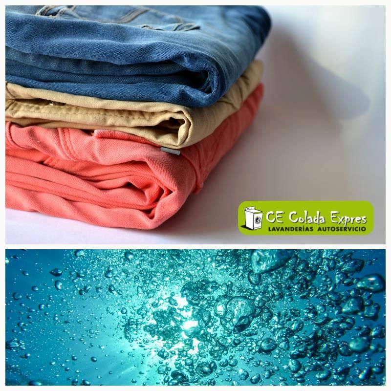 imagen ropa y agua